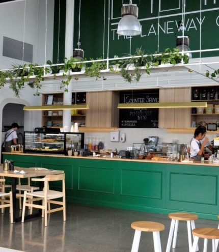 The Laneway Green, Springwood, cafe