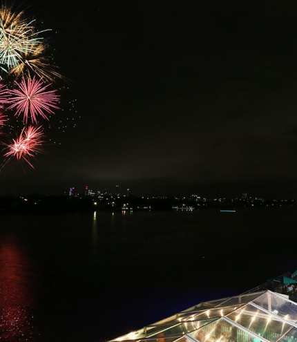 New Year's Eve Fireworks Portside Wharf