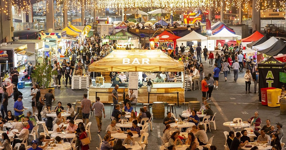 Festive Flavours Brisbane Night Market